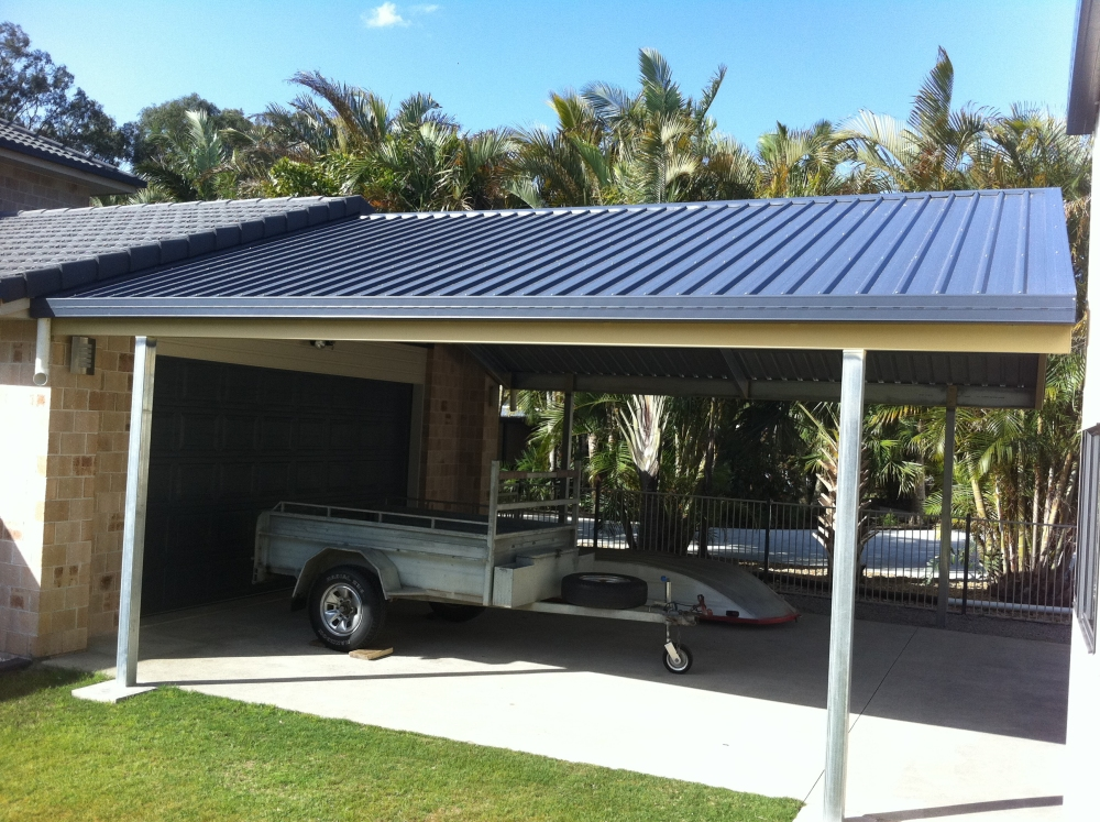 Carports tuff built garages brisbane clontarf for Garages and carports